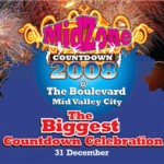 Free Ticket For MidZone New Year Eve Countdown 2008