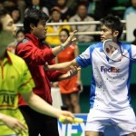 Lin Dan Fight In Korean Open