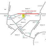 Beware of the road Jalan Universiti (along Jaya One and Sin Chew Daily to SS2)