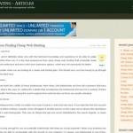 Web Hosting Rating – Articles