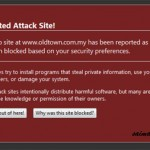 Old Town White Coffee Website Hacked?