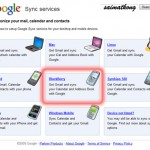 Sync your BlackBerry with Google Sync Services