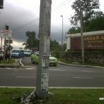 Road closure in Bandar Utama – Jalan Tanjung
