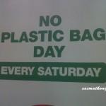 Selangor – No Plastic Bag Day Every Saturday