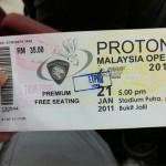 Datuk Lee Chong Wei won 7th Malaysia Open Title @ Stadium Putra, Bukit Jalil