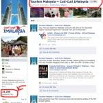 RM1.8Mil spent on Malaysian Tourism Facebook pages. Cuti-cuti 1 Malaysia VS. Curi-curi Wang Malaysia