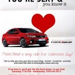 I need a sexy ride for my Valentine's Day! – KIA Forte Koup