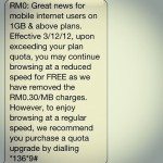 Finally Maxis Listen To The Users, Offering Unlimited Mobile Internet Usage Without Over Charge!