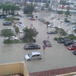 Serious flash floods hit LDP Puchong @ Around Puchong IOI Mall