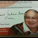Hmm Najib learning Mandrin? Prime Minister Datuk Seri Najib Tun Razak wishing you Happy Chinese New Year!