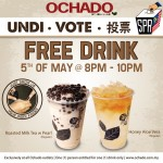 Ochado FREE Drink Giveaway General Election : 5 MAY 2013