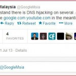 OMG! .com.my Malaysia website hacked? It's due to poisoned Google DNS that redirecting the website!~