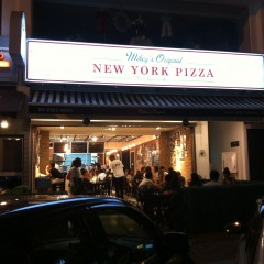 Mikey's Original New York Pizza @ Telawi 2, Bangsar