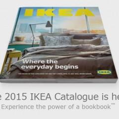 IKEA bookbook – An awesome way of presenting 2015 IKEA print catalogue!