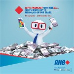 Transact with RHB Now to Win Prizes worth up to RM100,000!