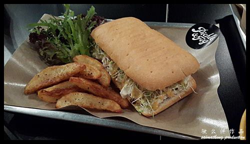 Coronation Chicken Sandwich RM15.00 : Pickle & Fig @ TTDI (Taman Tun)