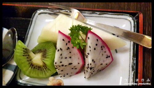 Fruits : 一心 Ishin Japanese Dining @ Old Klang Road