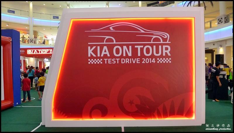 Test Drive KIA ON TOUR Roadshow 2014