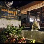 Bebek Bengil (Dirty Duck Diner) @ Jalan Hanoman, Ubud