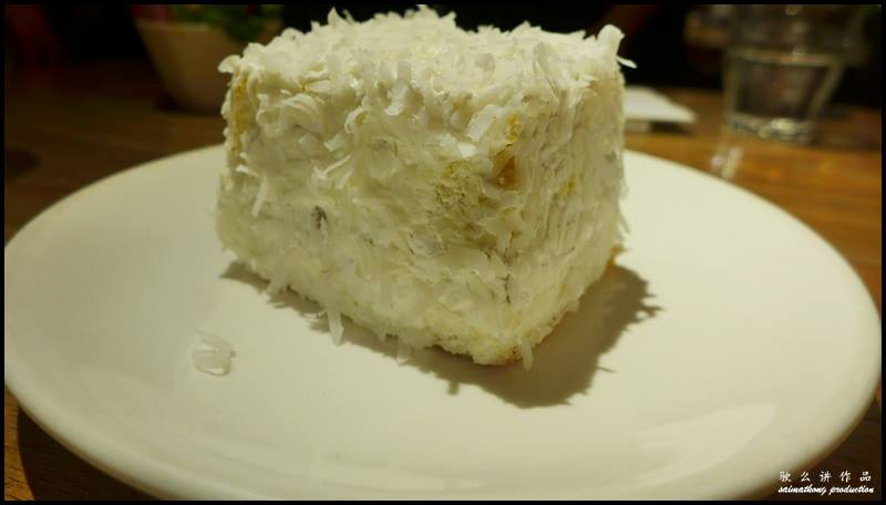 Food Review: Plan B @ Bangsar Village 1 : Coconut Cake (RM10)