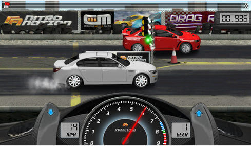 Maxis 4G Bloggers Blaze : Drag Racing Android Game