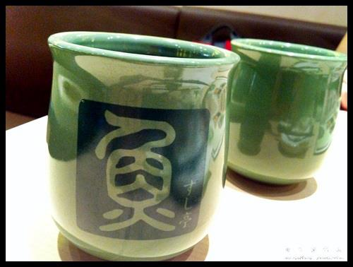 Green Tea @ Sushi Tei
