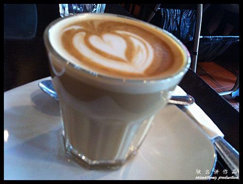 Antipodean Cafe Bangsar - Cafe Latte - RM8