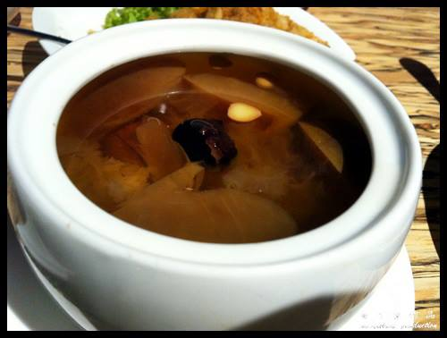 Steam Room 蒸心蒸意 @ Paradigm Mall, PJ : Double Steamed Soup with Pork Loin and Apples RM11.80