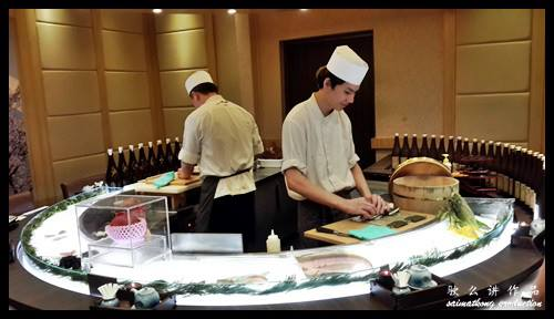 Sushi bar and watch the chefs at work : 一心 Ishin Japanese Dining @ Old Klang Road