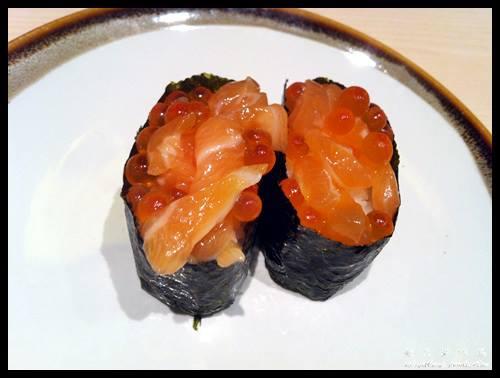Salmon Ikura Sushi @ Sushi Tei
