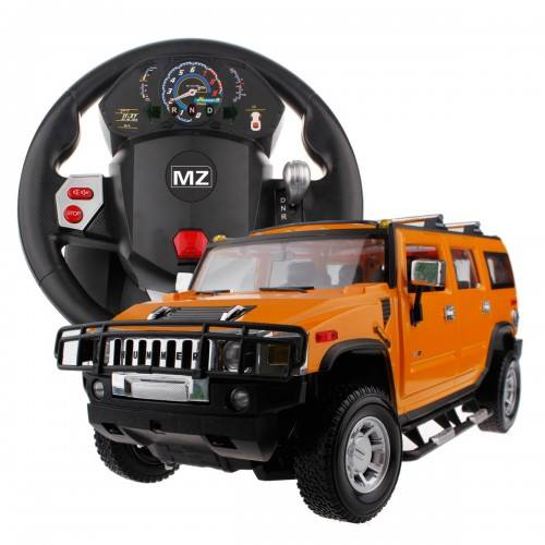 Hummer Simulated Steering Wheel Remote Control Car