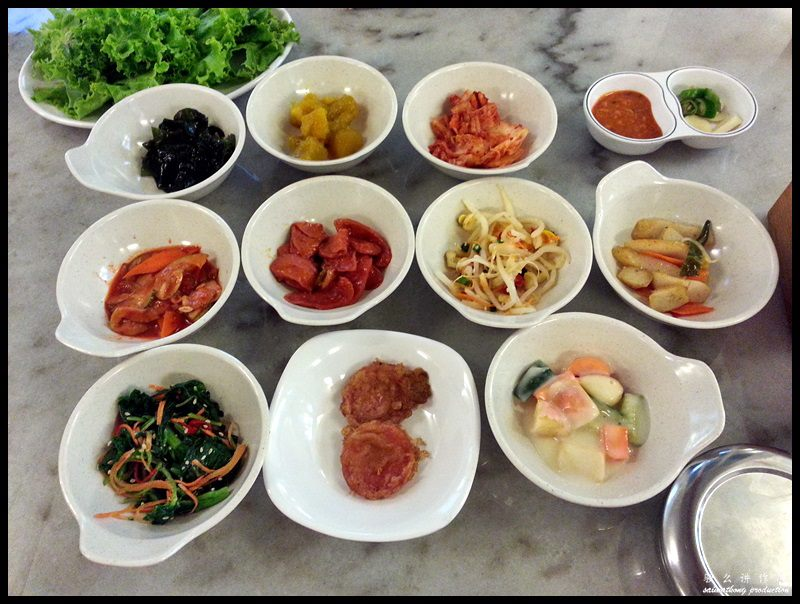 Seoul Palace Korean BBQ @ Bandar Puteri, Puchong : Banchan (side dishes)