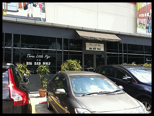 Three Little Pigs & the Big Bad Wolf @ Bangsar Village 1