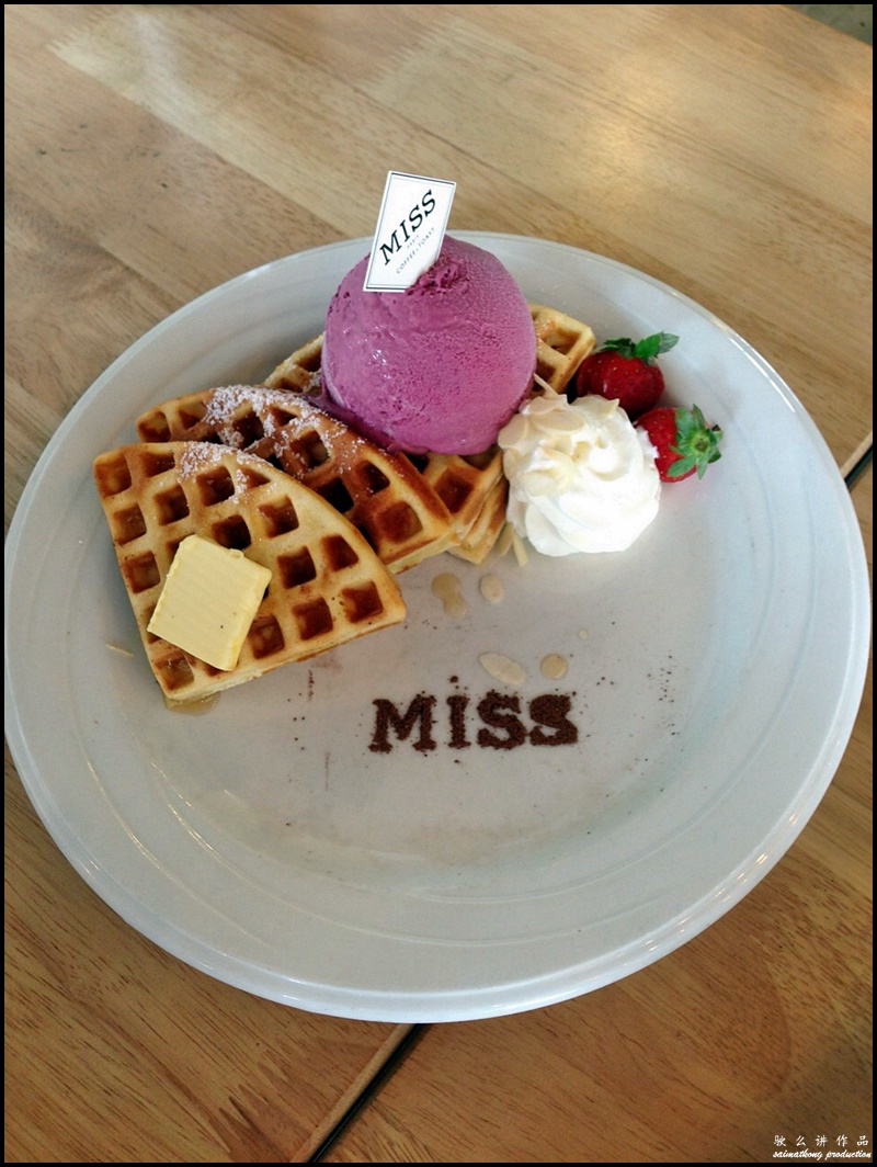 MISS Coffee & Toast @ Puchong Financial Corporate Centre (PFCC), Bandar Puteri : Classic Waffle (RM16)