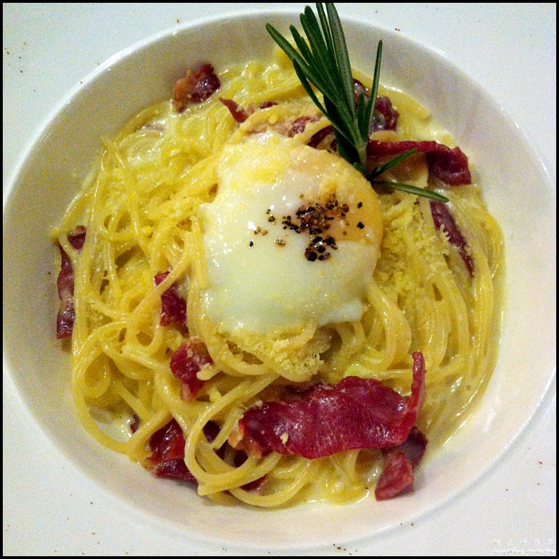 Walnut Cafe & Bar @ PFCC, Bandar Puteri : Carbonara (RM19.90)