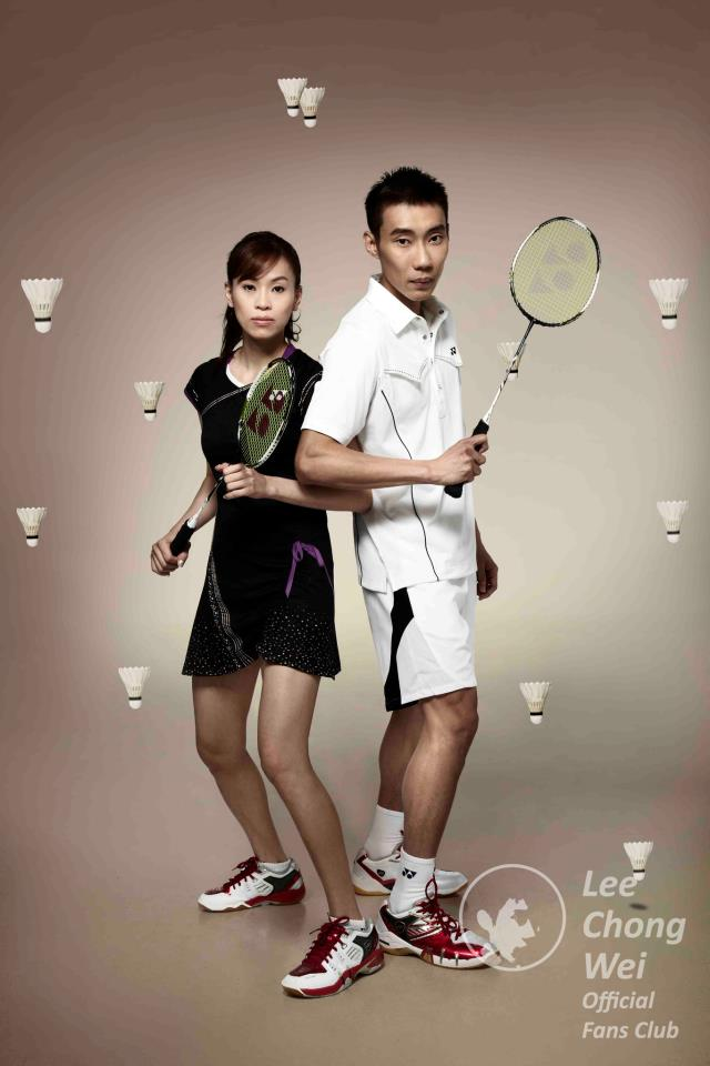 Datuk Lee Chong Wei vs Wong Mew Choo Wedding Photo : Dato LCW ❤ WMC