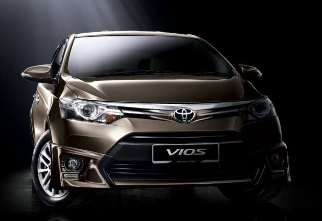 The New 2013 Toyota Vios is now Open for Booking in Malaysia