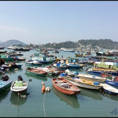 A Day in Cheung Chau 長洲, Hong Kong 香港