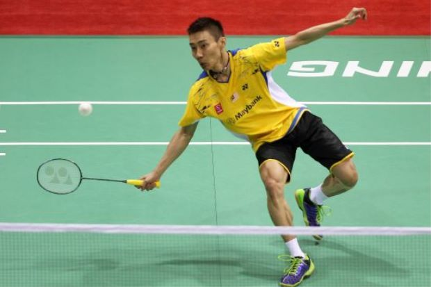 Thomas Cup 2014 : Lee Chong Wei