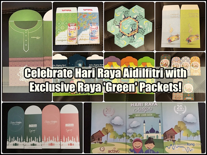 Celebrate Hari Raya Aidilfitri with Exclusive Raya 'Green' Packets!