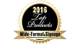 HP DesignJet T830 Printer receives a 2016 Wide-Format & Signage Top Products Award.