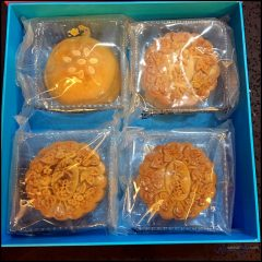 Delectable Mooncakes from Grand Harbour Dim Sum & Chinese Cuisine Restaurant (大港茶樓)