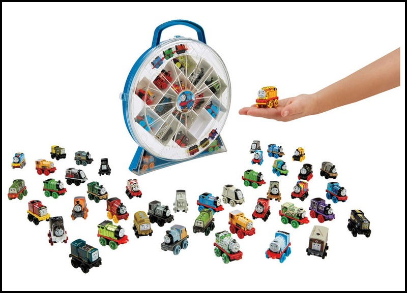 This Thomas & Friends Minis Collector's Playwheel is one of the accessories that you can get to keep your Minis collection. It can hold 16 mini engines and makes the perfect home for your Minis.