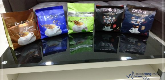 Getting my caffeine fix at home with Delica Instant Coffee!