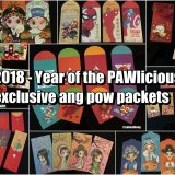 2018 – Year of the PAWlicious exclusive Ang Pow packets