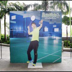 陈展鹏来马拍摄《星级健康2》 与大马前国手黄宗翰和Astro用户切磋球艺 Ruco Chan vs Wong Choong Hann