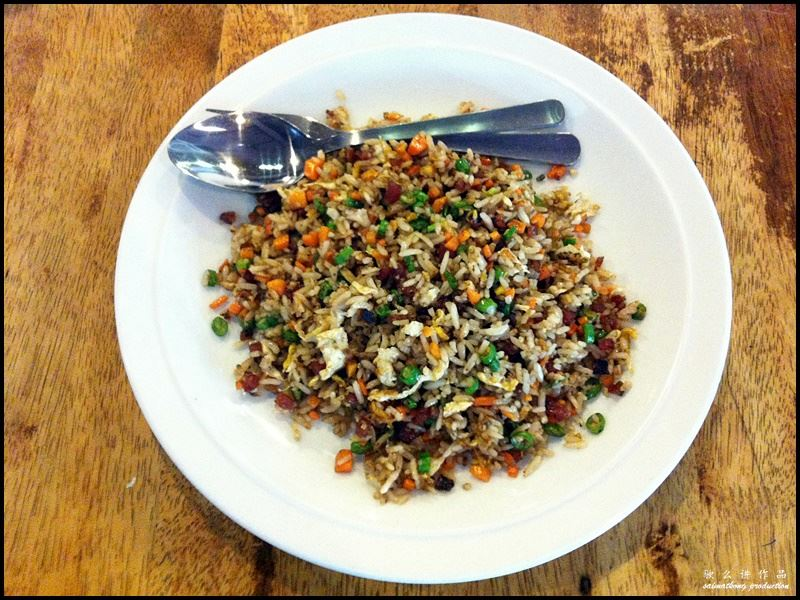 Noodle Village Restaurant 麵香村 @ Bandar Puteri, Puchong : Yang Zhou Fried Rice with Chinese Sausage (RM7.30)