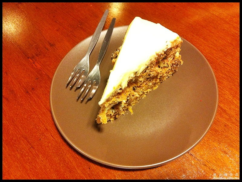 Rekindle @ SS2, PJ - a cosy place for cakes & coffee : Carrot Cake (RM11.90)