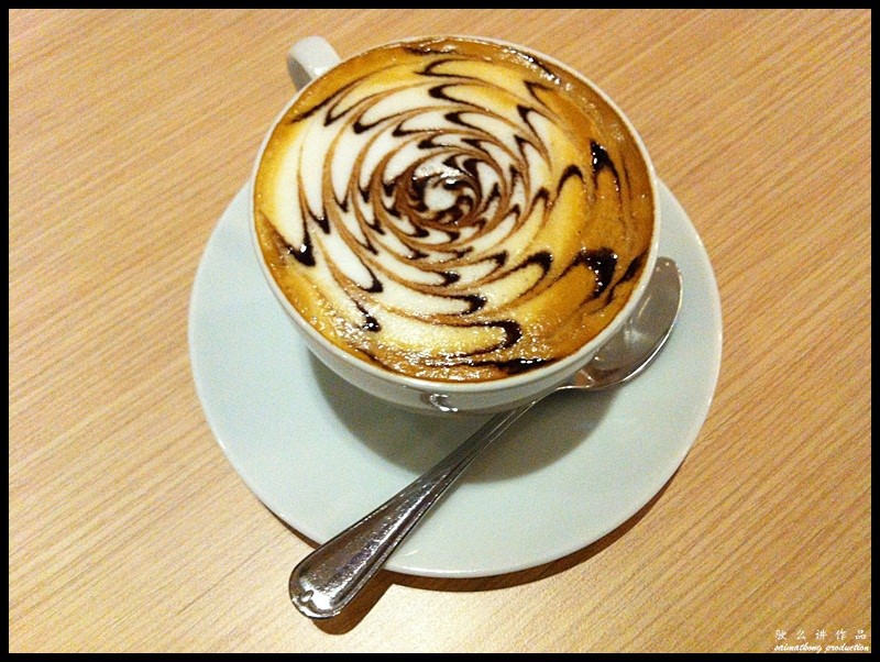 The Journey Cafe @ SetiaWalk, Puchong : Cappuccino (RM7.90)