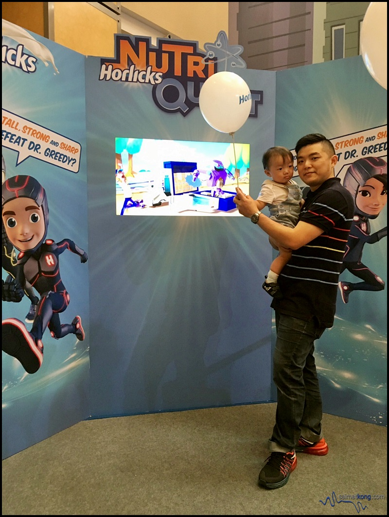 Horlicks NutriQuest is a fun gaming platform giving kids an opportunity to be part of an exciting quest to save the world from the evil Dr. Greedy with four tall, strong and sharp Horlicks heroes.